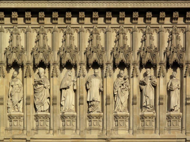 Frise d'Abbaye de Westminster de martyres photos libres de droits