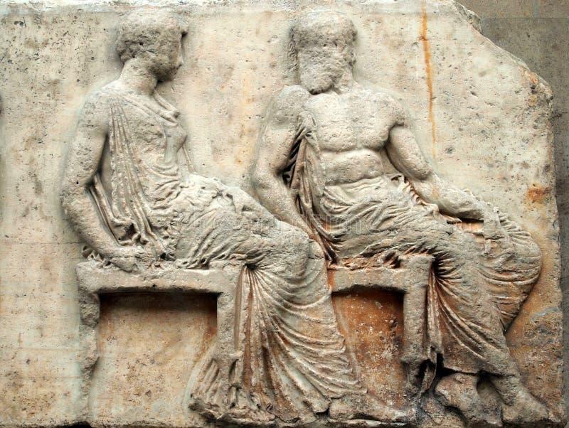 Frise de parthenon, Elgin Marbles images stock