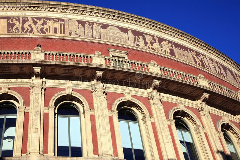 Frise royale d'Albert Hall photographie stock