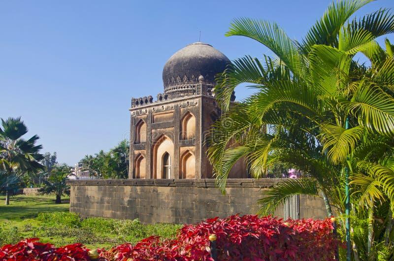 Friseur ` s Grab Garten Barid Shahi, Bidar, Karnataka stockfotos