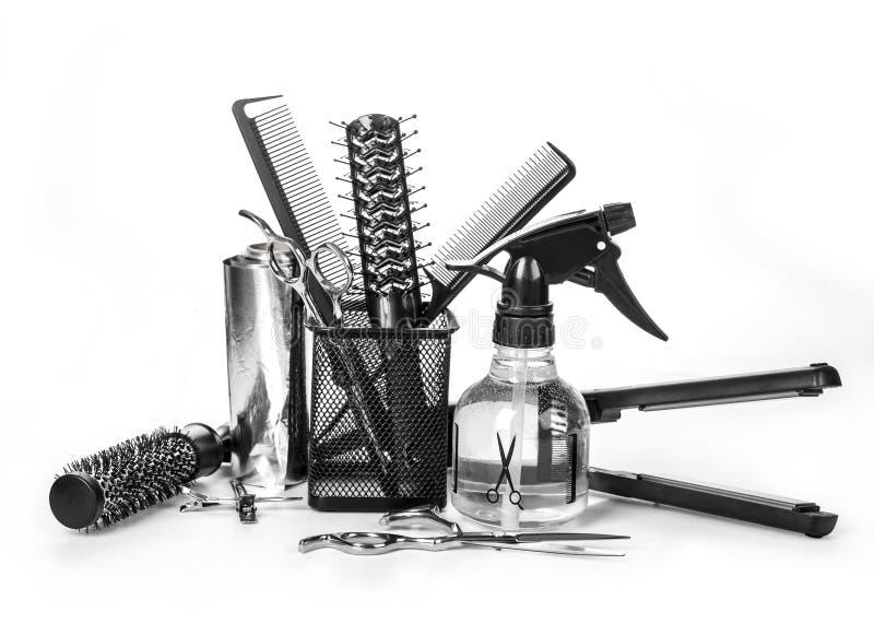 Friseurwerkzeuge stockbild
