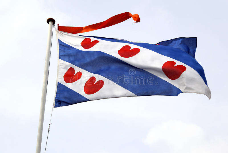 Frisian flag royalty free stock photography