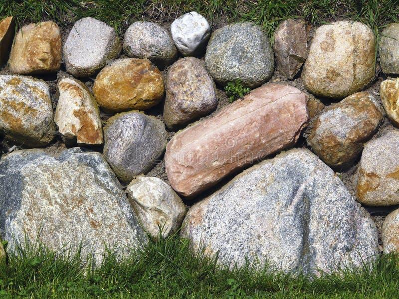 frisian wyspy kamienia sylt ściana fotografia royalty free