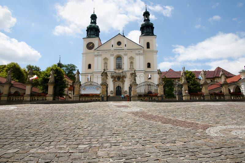 Fristad av Kalwaria Zebrzydowska - Polen royaltyfri foto