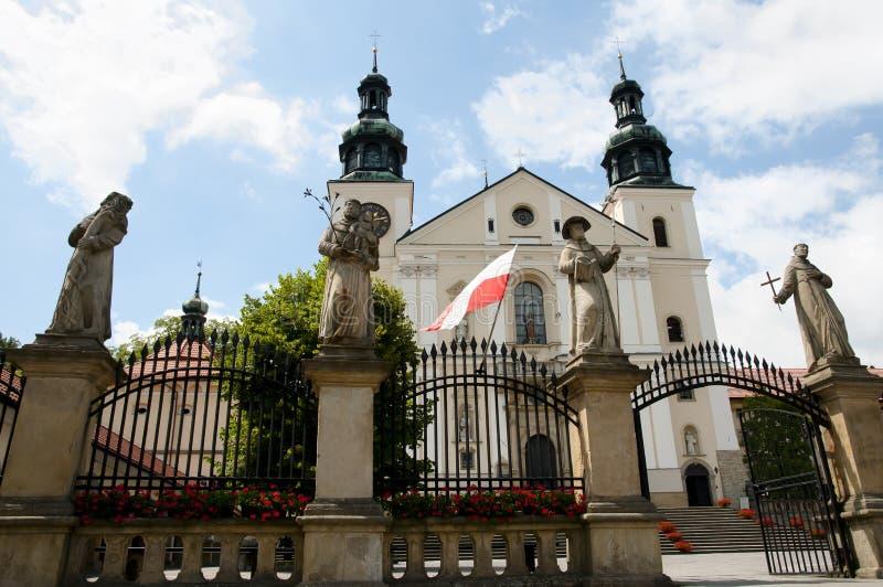 Fristad av Kalwaria Zebrzydowska - Polen royaltyfria foton