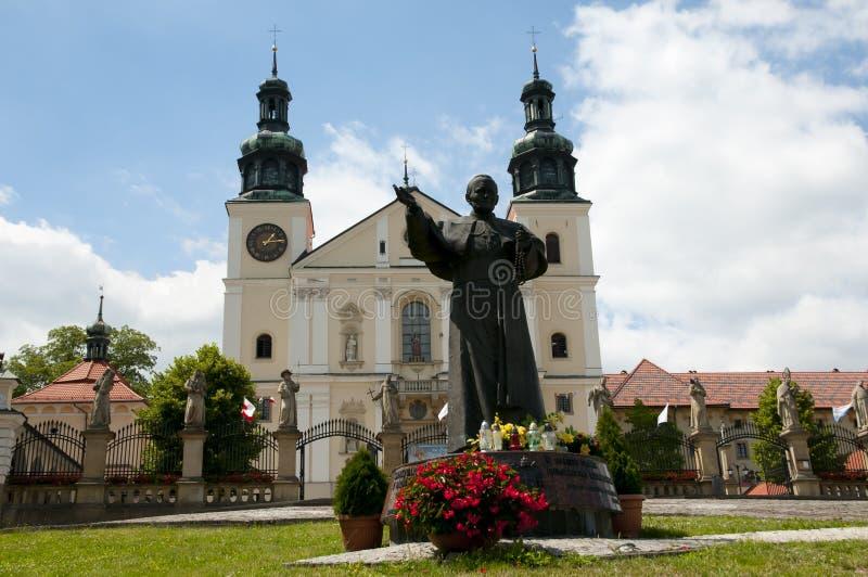 Fristad av Kalwaria Zebrzydowska - Polen arkivfoton