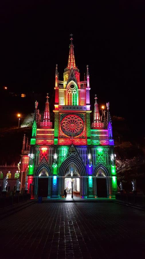 Fristad av vår dam av Lajas royaltyfri foto