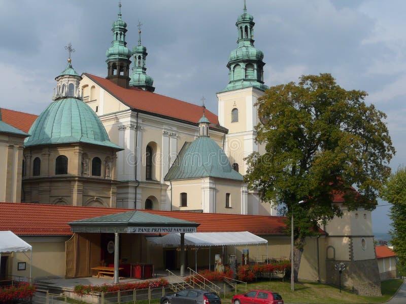 Fristad i Kalwaria Zebrzydowska, Polen royaltyfri bild