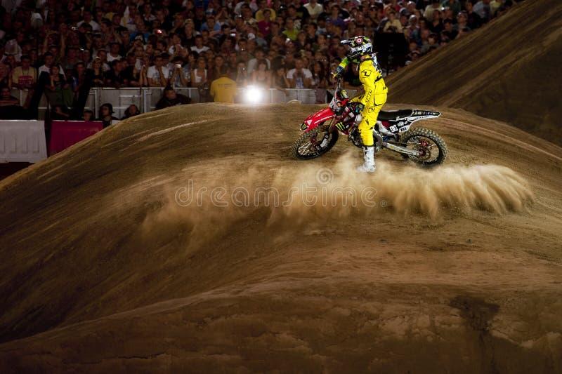 Fristilmotocross arkivfoton