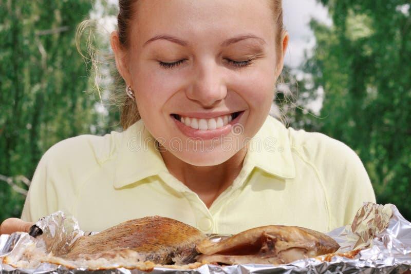 Fritada de peixes apetitosa imagens de stock royalty free