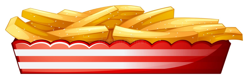 Fritadas de la patata libre illustration