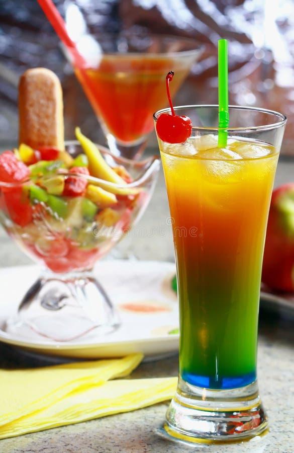 fritids- sommar för drink arkivbild