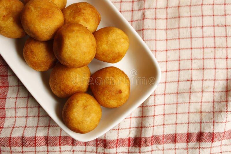 Fritos da batata doce fotografia de stock