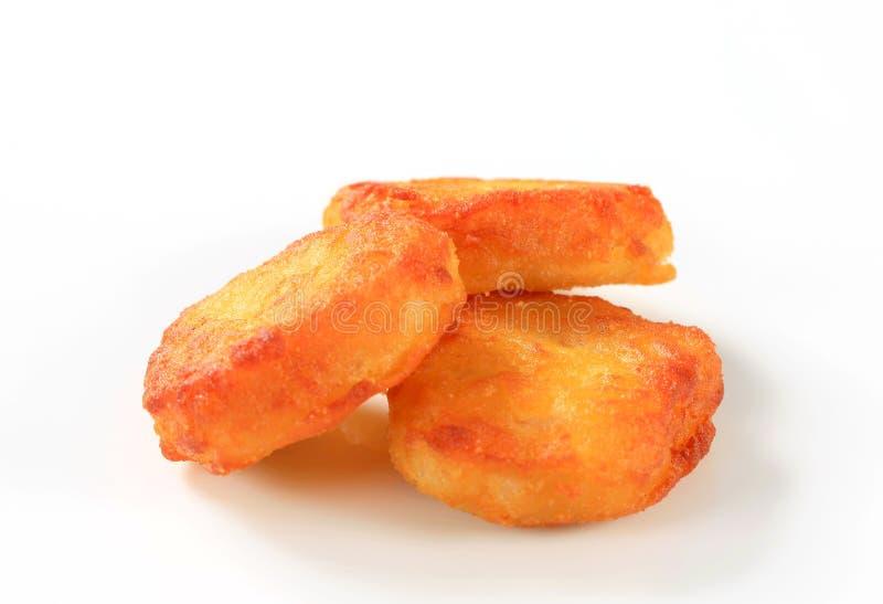 Fritos friáveis fotos de stock