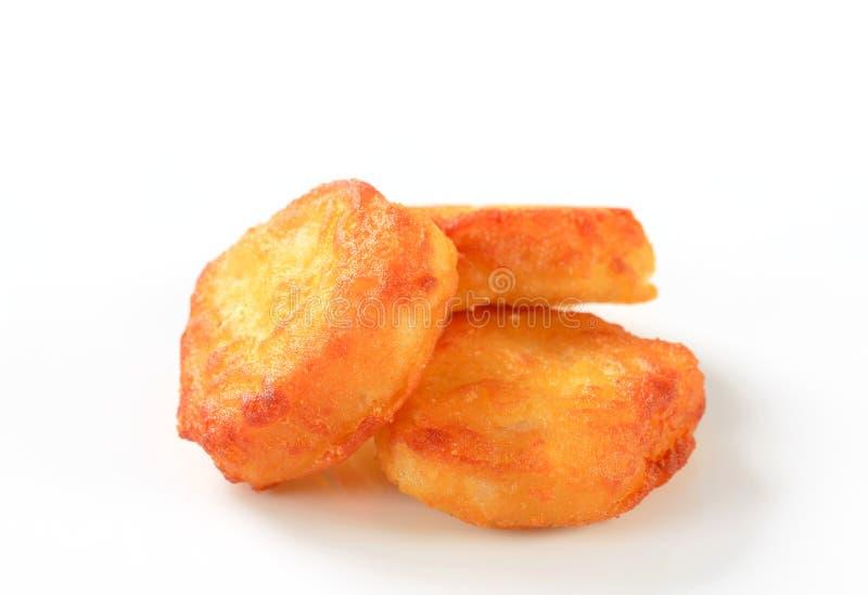 Fritos friáveis fotografia de stock