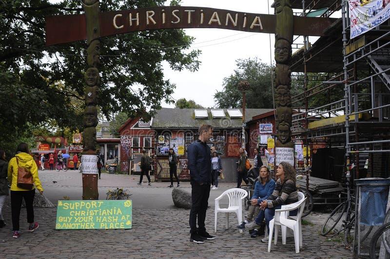 FRITT OMRÅDE FÖR CHRISTIANIA-PÖLSA royaltyfri foto