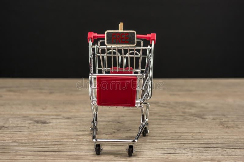 Fritt shoppingbegrepp arkivfoto
