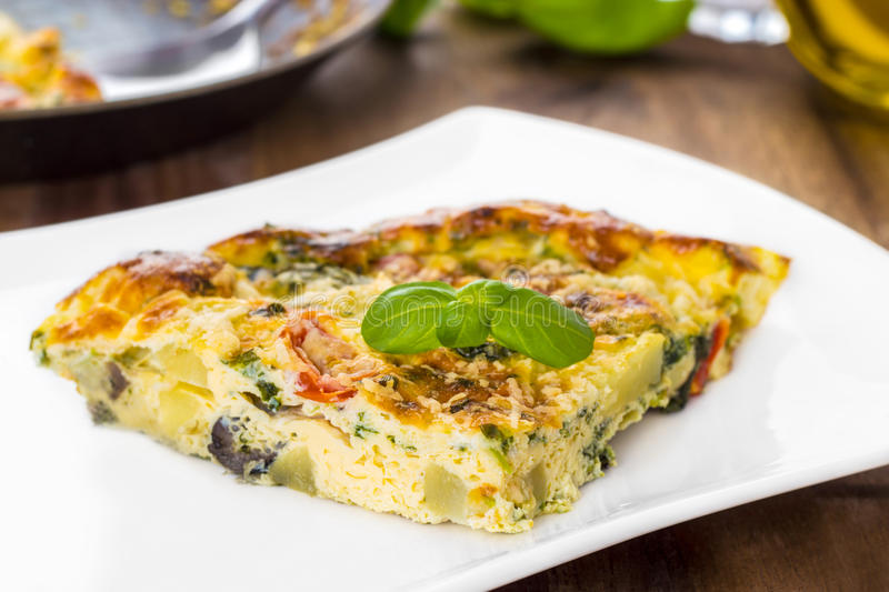 Frittata italiano fotos de stock royalty free