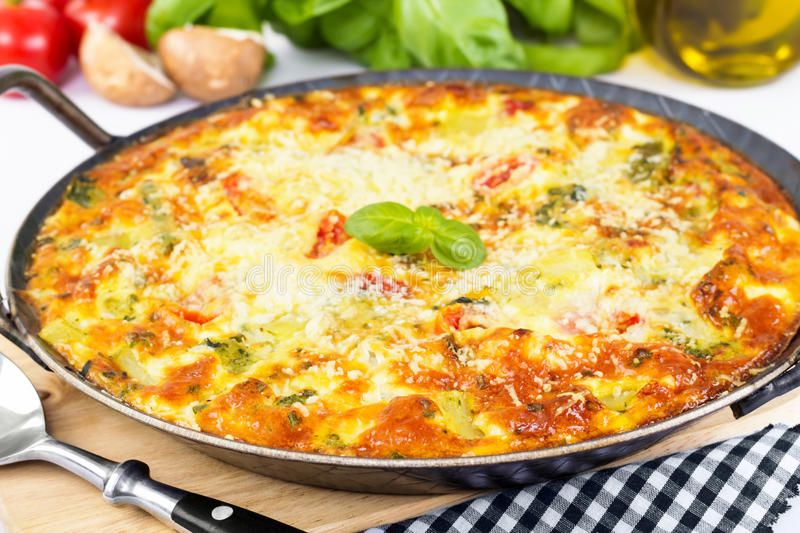 Frittata italiano fotos de stock