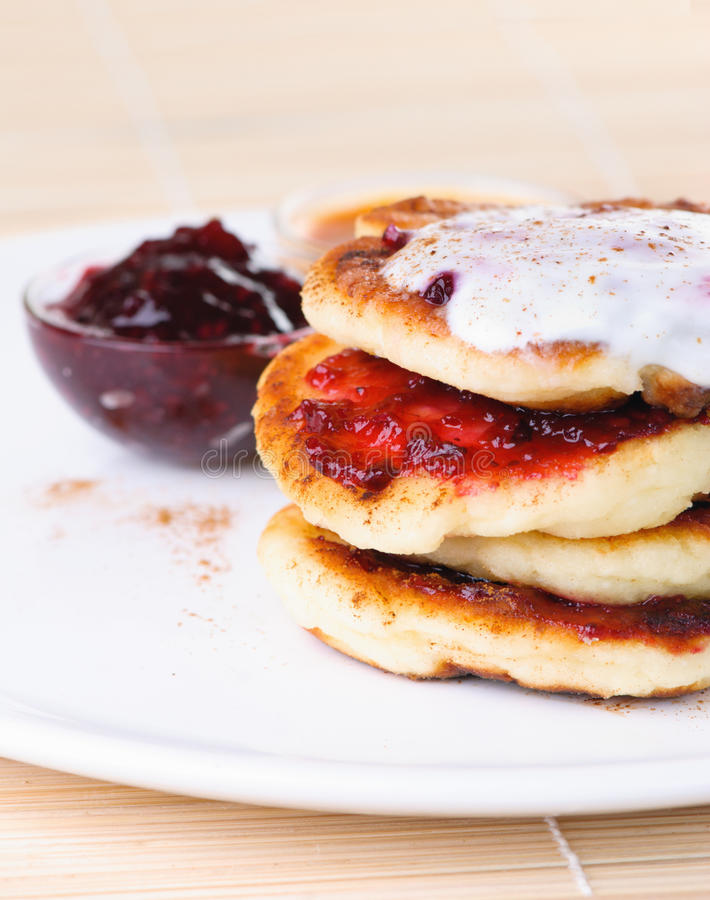 Download Fritters Of Cottage Cheese Royalty Free Stock Photo - Image: 14821995