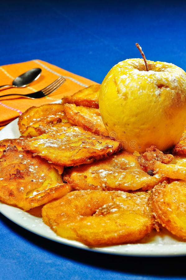 Free Fritters Of Apple Stock Photo - 12922300