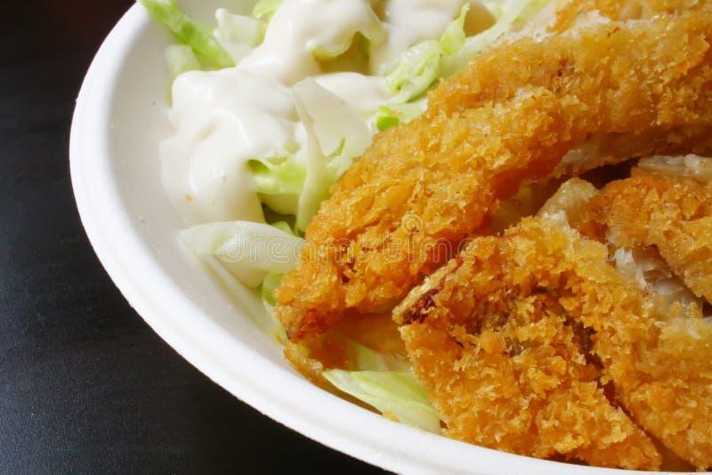 Frittierte Finger-Nahrung stockfoto