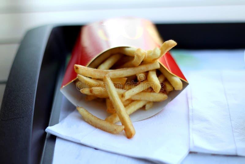 Fritture del ` s di McDonald fotografie stock