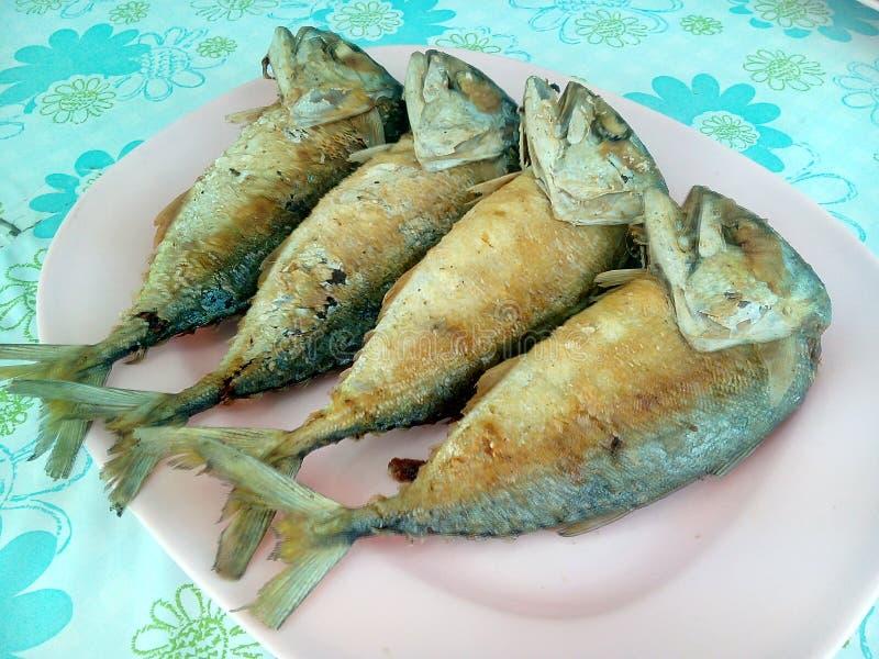 Friture de poissons images libres de droits