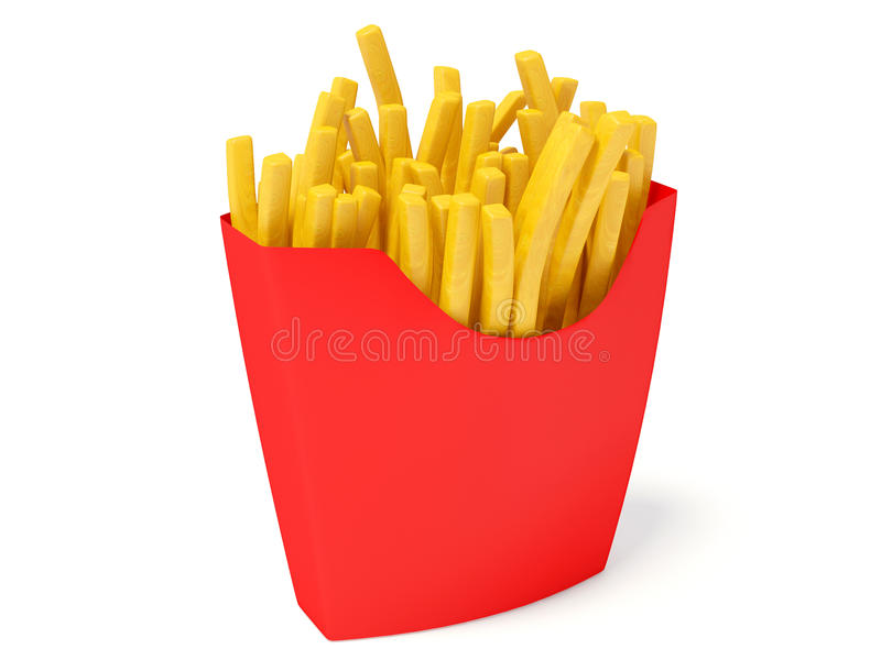Fritures ; image stock