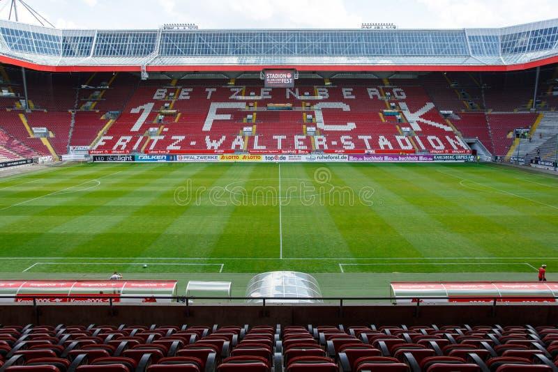 Fritz-Вальтер-Stadion дом до 2 Клуб 1 Bundesliga FC Кайзерслаутерн и расположено в городе Кайзерслаутерна, Рейна стоковая фотография rf