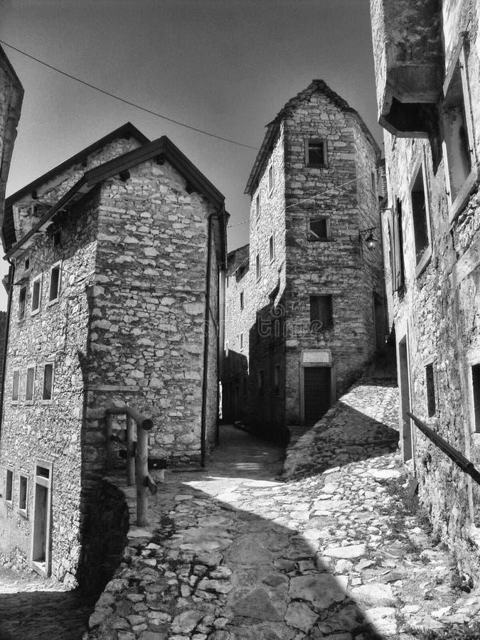 Friuli-Venezia Giulia - Casso fotografia stock