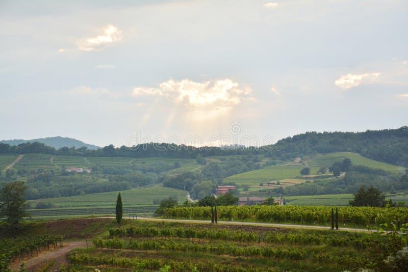 Friuli y alrededores, Italia, Europa imagen de archivo libre de regalías