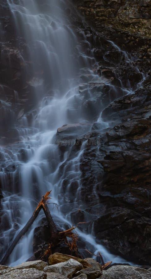 Froda waterfalls in Verzasca valley royalty free stock images