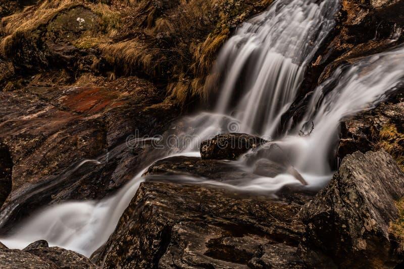 Froda waterfalls in Verzasca valley royalty free stock photos