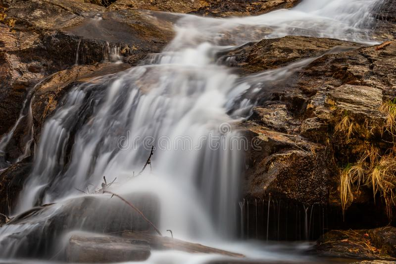 Froda waterfalls in Verzasca valley stock photos