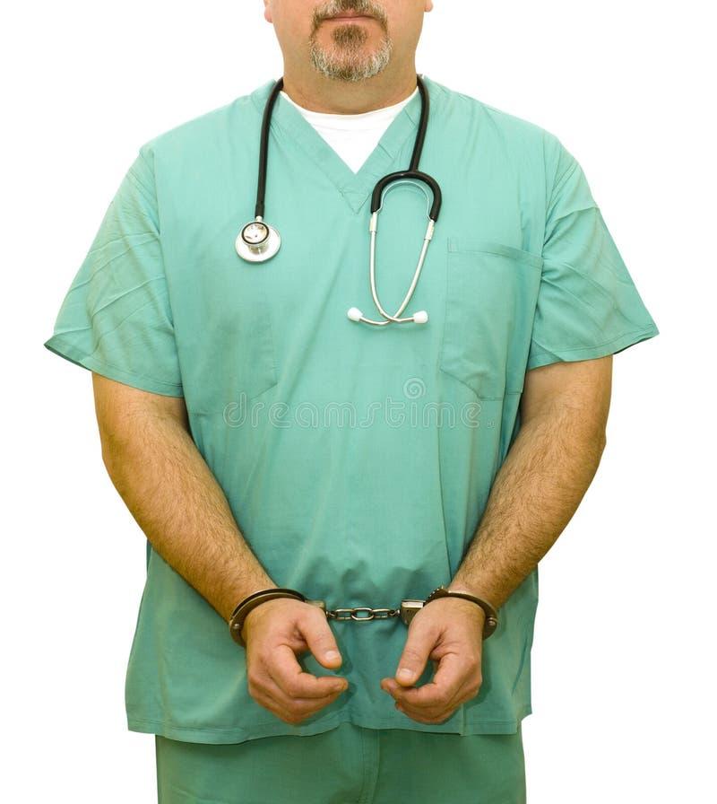 Frode medica immagini stock