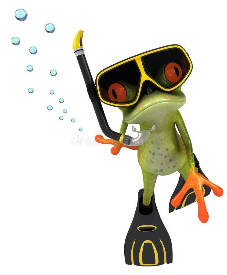 Frog stock illustration