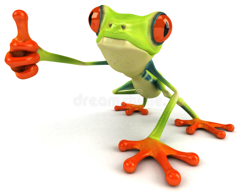 Download Frog stock illustration. Image of jump, animal, wildlife - 21312383