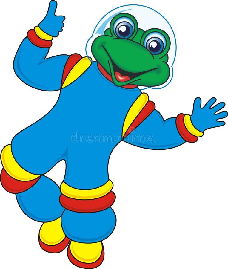 Download Frog stock illustration. Illustration of figure, dark - 2597875