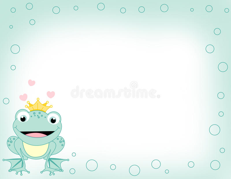 Download Frog border stock illustration. Image of drawing, abstract - 9975771
