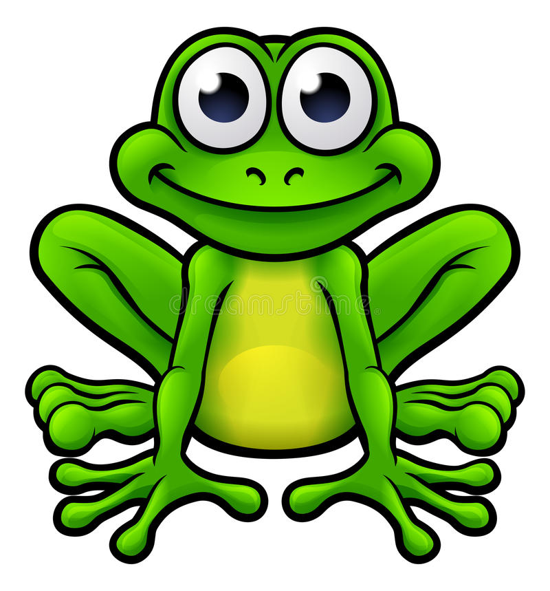 Free Frog Cartoon Character Royalty Free Stock Images - 91709519