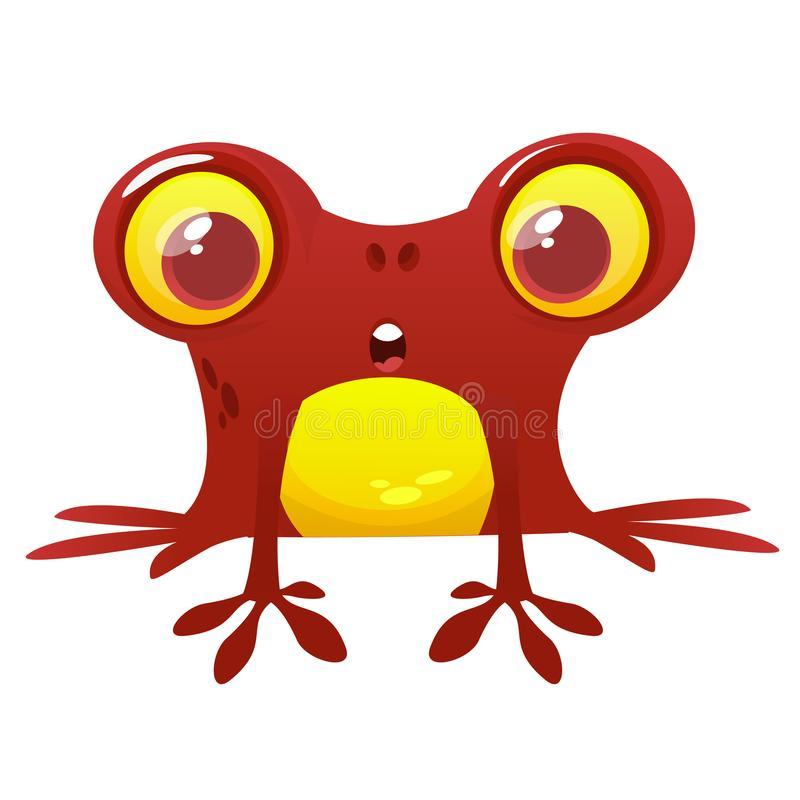 frog cartoon character vector illustration design for print rh dreamstime com Tree Frog Vector Turtle Vector
