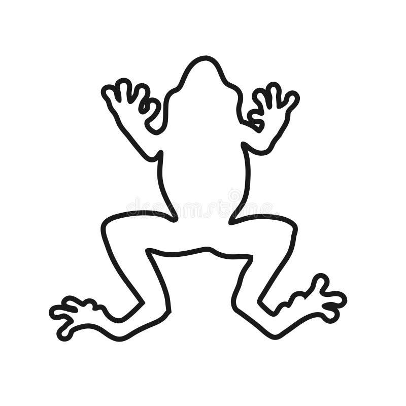 Frog lines vector illustration vector illustration