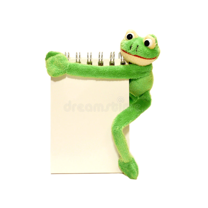 Frog sign royalty free stock photos