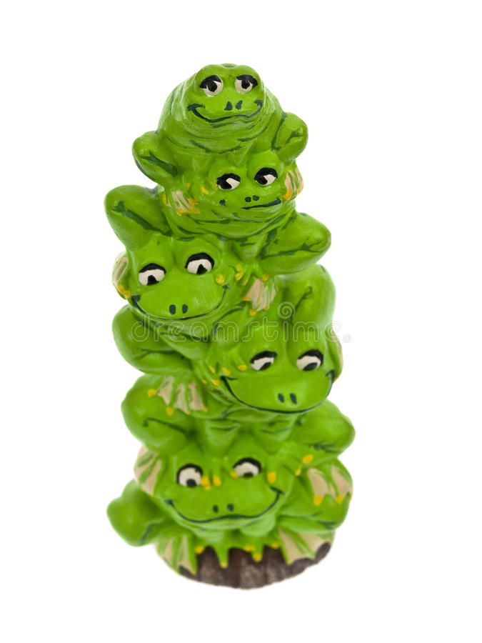 Free Frog Stack Royalty Free Stock Photo - 11241005