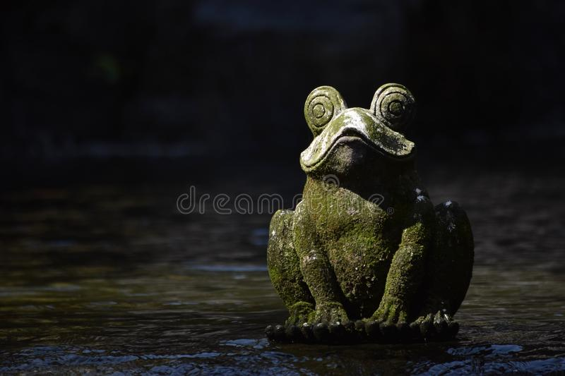Frog Statue royalty free stock image
