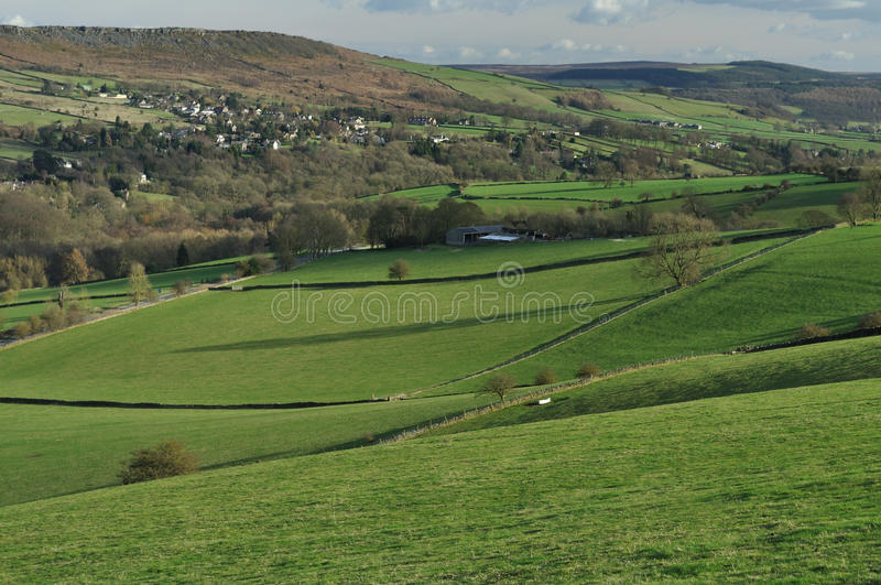 Download Froggatt Edge And The Hope Valley, England Stock Image - Image: 24943273