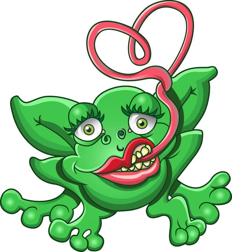 froggy αγάπη διανυσματική απεικόνιση