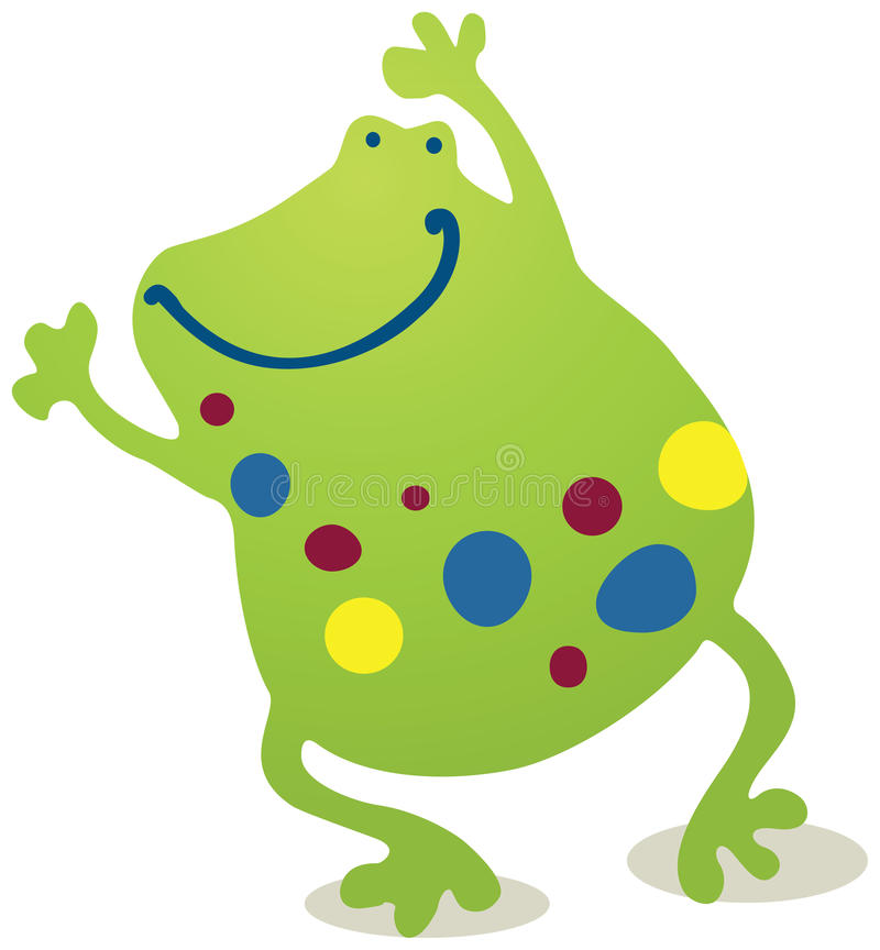 Download Froggy stock illustration. Image of colors, children - 26552206