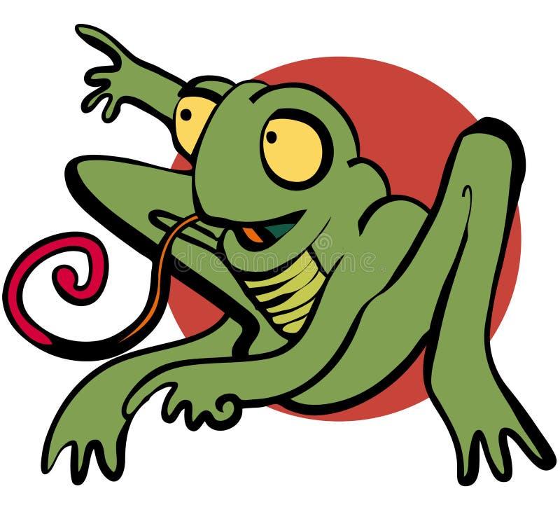 Froggy illustrazione di stock